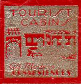 Naswa Cabins Matchbook Back