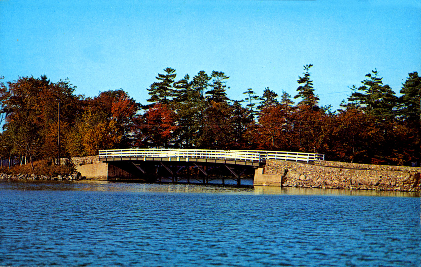 Long Island Bridge Lake Winnipesaukee