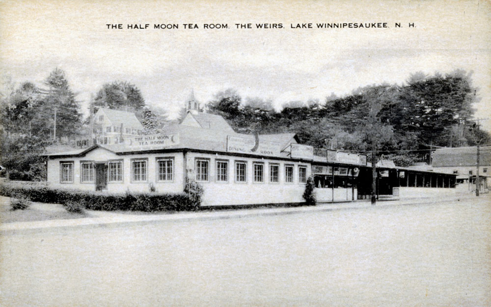 History Of The Half Moon Motel Amp Cottages