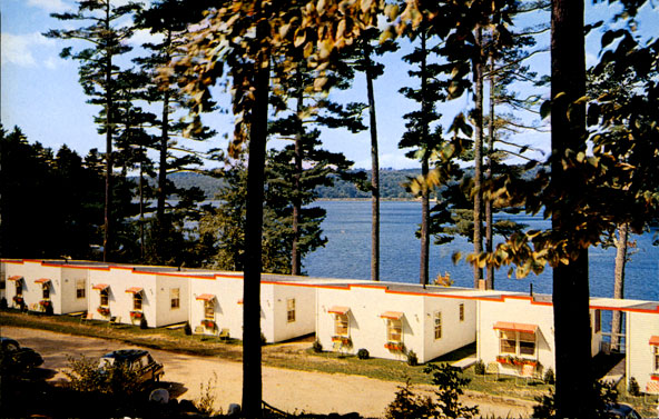 Cabin Colony On Weirs Boulevard, 1950u0027s. Can You Guess The Name Of This  Lodging Property? For The Answer, Scroll To The Bottom Of This Page